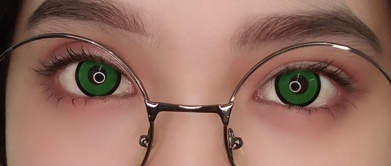 Sweety Crazy Lens - Green Zombie / Mansion-Crazy Contacts-UNIQSO