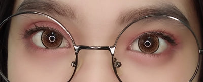 Sweety Sunshine Brown-Colored Contacts-UNIQSO