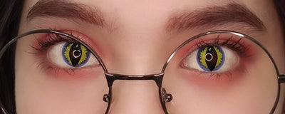 Sweety Crazy Lens Blue Dragon-Crazy Contacts-UNIQSO