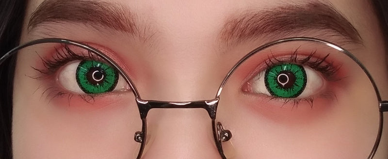 Sweety Crazy Lens - Zombie Green-UNIQSO
