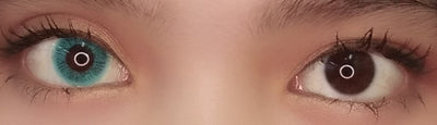 EOS Fluffy Mint-Colored Contacts-UNIQSO