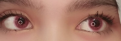 EOS Fluffy Pink-Colored Contacts-UNIQSO