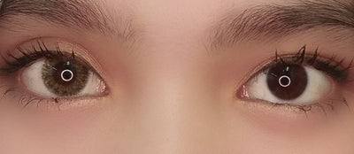 EOS Rosy Khaki Brown-Colored Contacts-UNIQSO