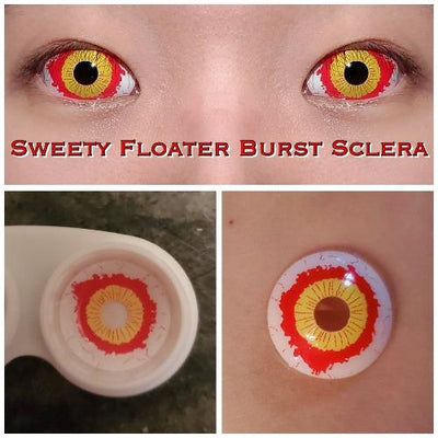 Sweety Floater Burst Sclera-Sclera Contacts-UNIQSO