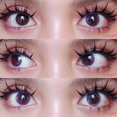 Sweety Starry Violet-Colored Contacts-UNIQSO