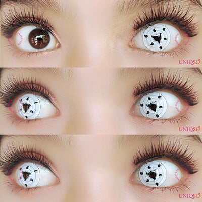 Sweety Sharingan White Rinnegan-Colored Contacts-UNIQSO