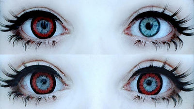Kawayii A-Max Red-Colored Contacts-UNIQSO
