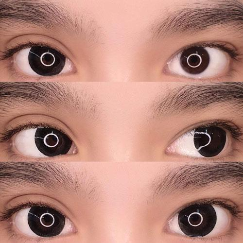Kawayii Magic Black-Colored Contacts-UNIQSO