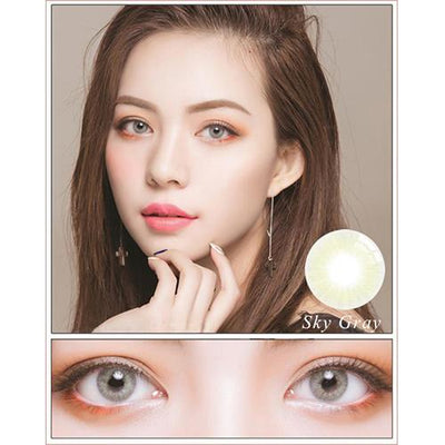 Sweety Hidrocor II Sky Grey-Colored Contacts-UNIQSO