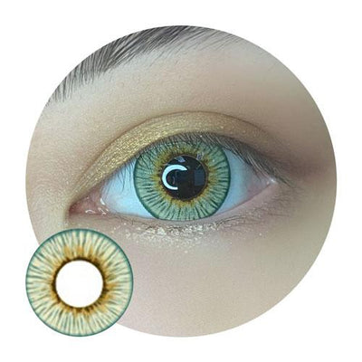 Sweety Angeles Green-Colored Contacts-UNIQSO
