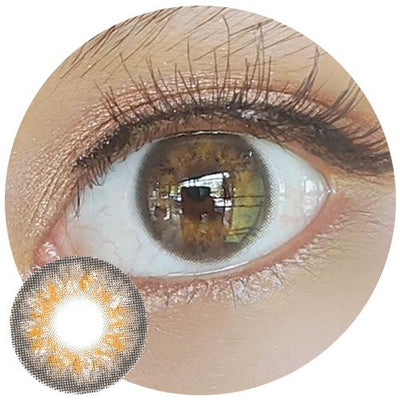 Sweety Iris Brown-Colored Contacts-UNIQSO