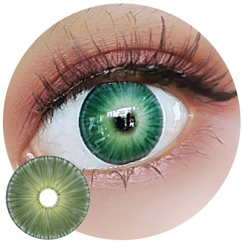 Urban Layer New York Green-Colored Contacts-UNIQSO