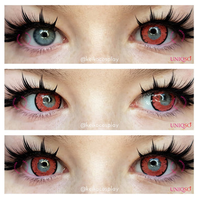 Sweety Queen Pink Violet-Colored Contacts-UNIQSO