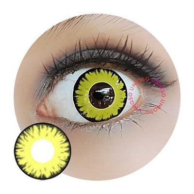 Sweety Crazy Lens - Vampire Yellow-Crazy Contacts-UNIQSO