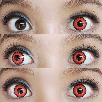 Sweety Crazy Lens - Vampire Red-Crazy Contacts-UNIQSO