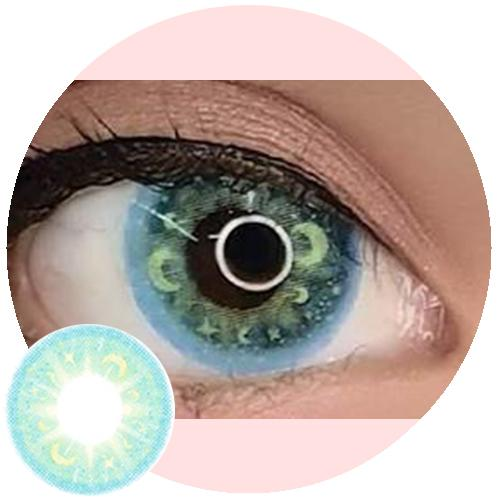 EOS Moon River Green-Colored Contacts-UNIQSO