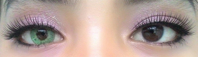 Western Eyes Frozen Green-Colored Contacts-UNIQSO