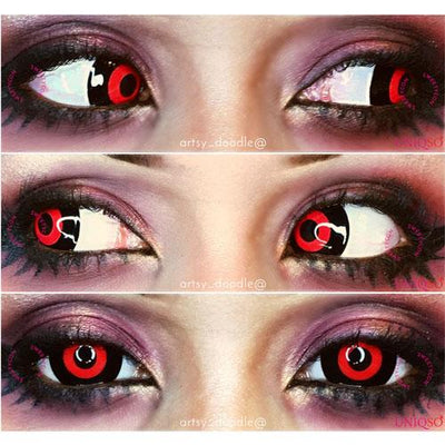 Sweety Mini Sclera Lens Red Ghouls-UNIQSO