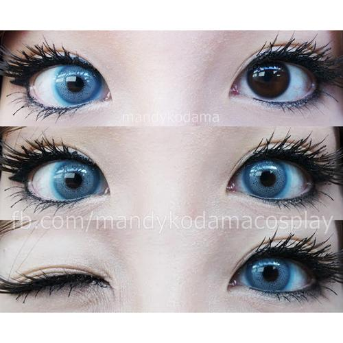 Sweety Batis Blue-Colored Contacts-UNIQSO
