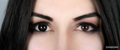 Sweety Pro Black-Colored Contacts-UNIQSO