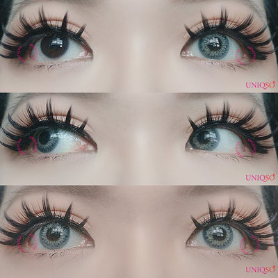 Sweety Taylor Blue-Colored Contacts-UNIQSO