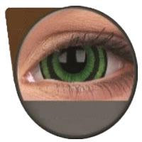 Sweety Mini Sclera Lens Green Goblin-Sclera Contacts-UNIQSO