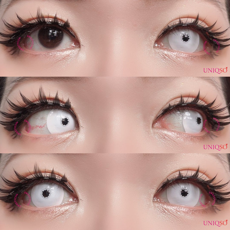 EOS Crazy Mini S White-Crazy Contacts-UNIQSO