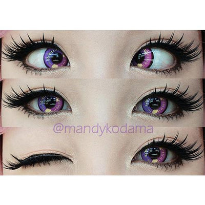 Sweety Anime Violet-Colored Contacts-UNIQSO