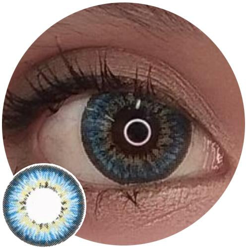EOS Ceaser Blue (aka Puffy Blue)-Colored Contacts-UNIQSO
