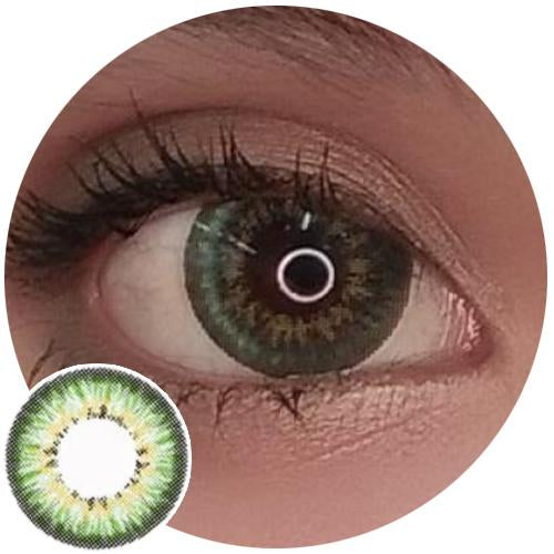 EOS Ceaser Green (aka Puffy Green)-Colored Contacts-UNIQSO
