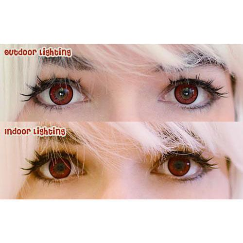 EOS New Adult Red-Colored Contacts-UNIQSO