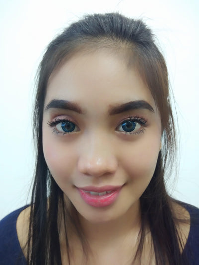 EOS Bambi Blue-Colored Contacts-UNIQSO