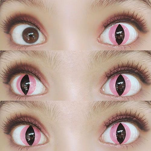 Sweety Crazy Lens - Pink Cat-Crazy Contacts-UNIQSO