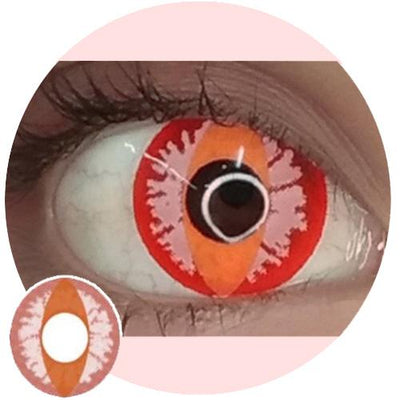 EOS Crazy Lens Red Dragon Eye-Crazy Contacts-UNIQSO