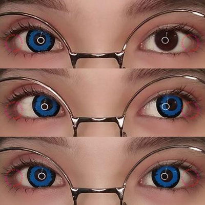 Sweety Crazy Lens - Blue Elf-Crazy Contacts-UNIQSO