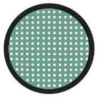 Sweety Crazy Lens - Green Mesh/Screen with Black Rim-UNIQSO