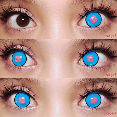 Sweety - Fire Force Princess Hibana Blue Eye-Crazy Contacts-UNIQSO