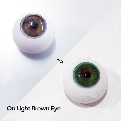 Sweety Hidrocor Verde (also known as Lurve Brilliant Green)-Colored Contacts-UNIQSO