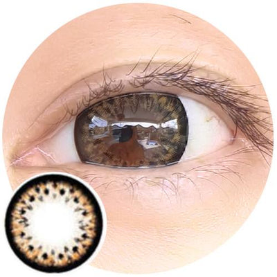 Barbie Leopard Brown-Colored Contacts-UNIQSO