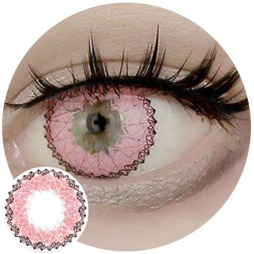 Sweety Lucky Girl Pink-Colored Contacts-UNIQSO
