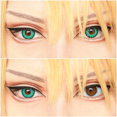 Sweety Crazy Lens - Vampire Green-Crazy Contacts-UNIQSO