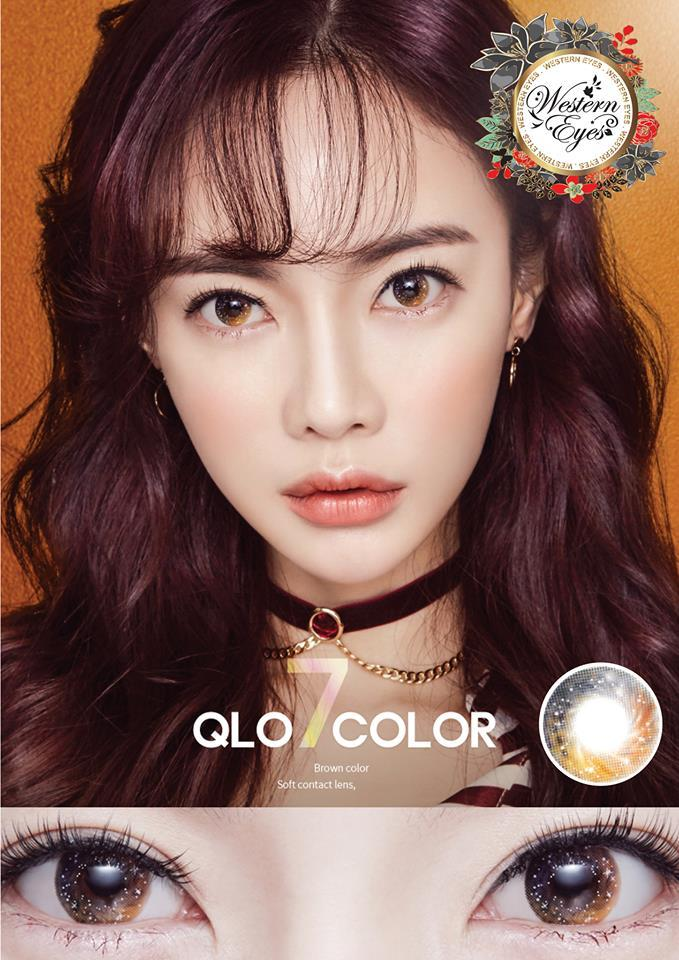 Western Eyes Qlo Brown-Colored Contacts-UNIQSO