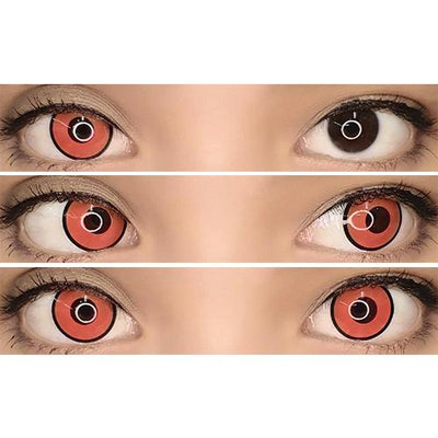 Sweety Crazy Lens - Red Zombie / Mansion-Crazy Contacts-UNIQSO