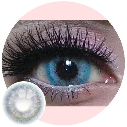 Sweety Colorful Rio Grey-Colored Contacts-UNIQSO