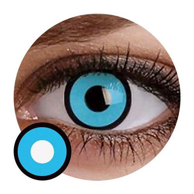 Sweety Crazy Lens - Blue Mansion/ Blue Zombie-Crazy Contacts-UNIQSO