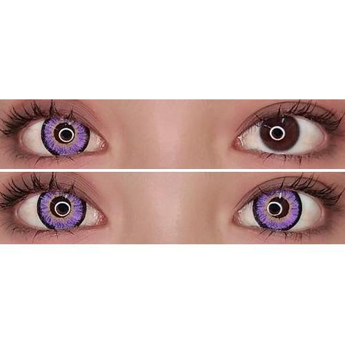 Sweety Snow Violet-Colored Contacts-UNIQSO