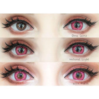 Sweety Free Pink-Colored Contacts-UNIQSO