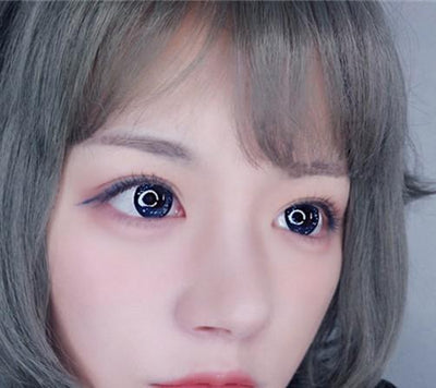Sweety Galaxy Ocean Blue-Colored Contacts-UNIQSO