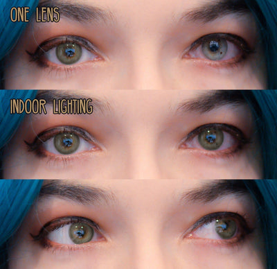 Sweety Aura Turquoise-Colored Contacts-UNIQSO
