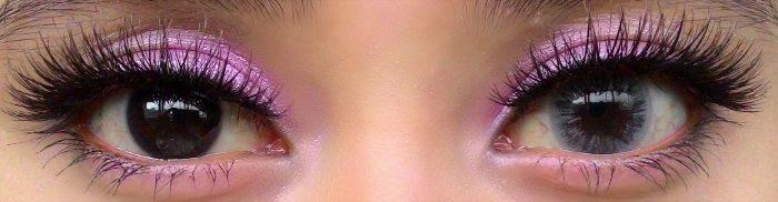 Western Eyes Ice Grey-Colored Contacts-UNIQSO